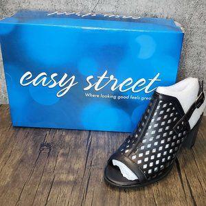 🤶⏬ Easy Street Erin Heeled Slingback Sandal 6M